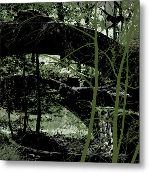 Bridge Vi Metal Print