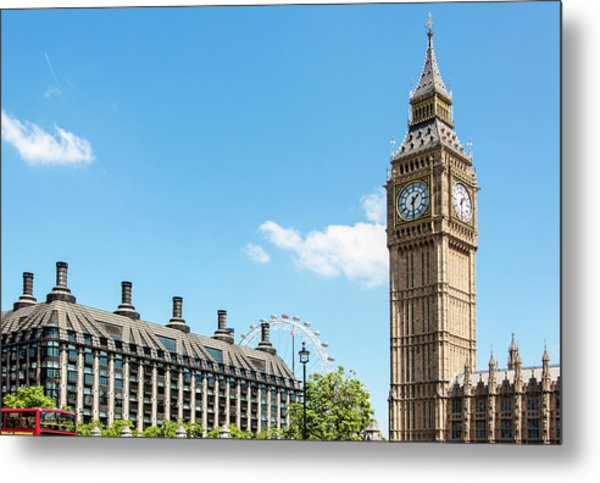 British Government Metal Print by Chris Mansfield
