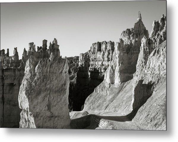 Metal Print featuring the photograph Bryce Canyon Np Ix Bw by David Gordon