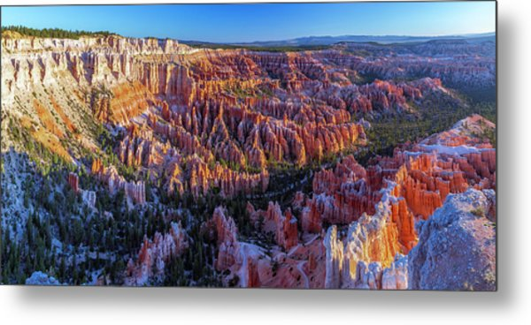 Bryce Canyon Np - Sunrise On Another World Metal Print
