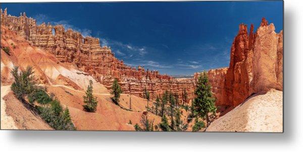 Bryce Canyon Np - Walls, Windows And Hoodoos, Oh My Metal Print