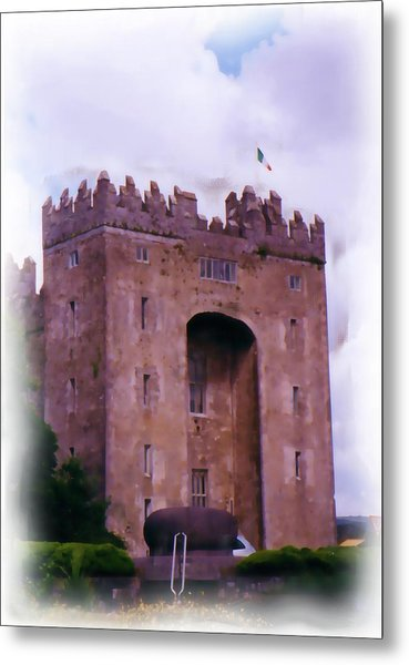 Bunratty Castle Painting Metal Print