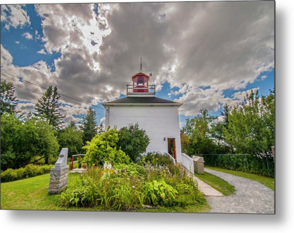 Burntcoast Head Lighthouse  Metal Print