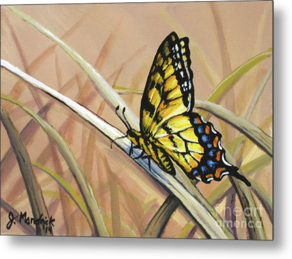 Butterfly Meadow - Part 2 Metal Print