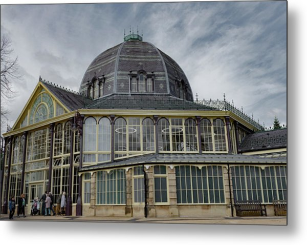 Metal Print featuring the photograph Buxton Octagon Hall At The Pavilion Gardens by Scott Lyons
