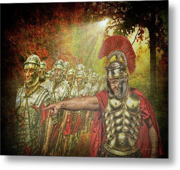 Caesar Metal Print