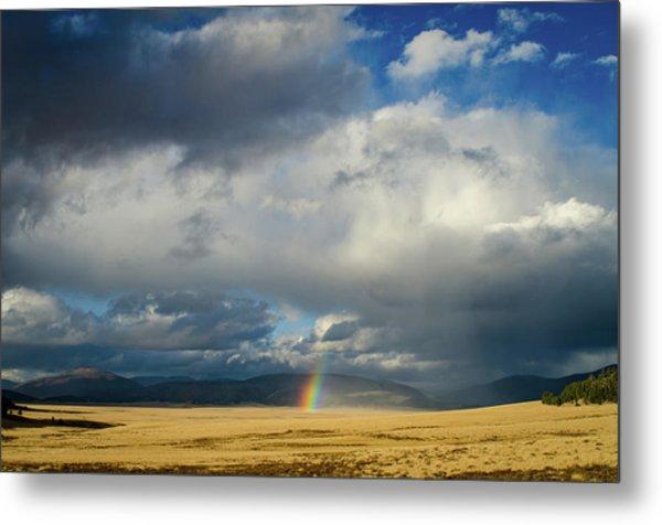 Caldera Rainbow Metal Print
