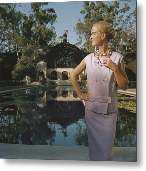 California Fashion Metal Print by Slim Aarons