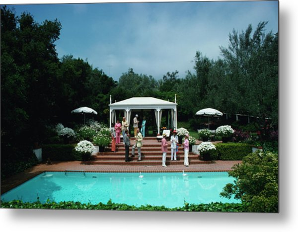 California Garden Party Metal Print