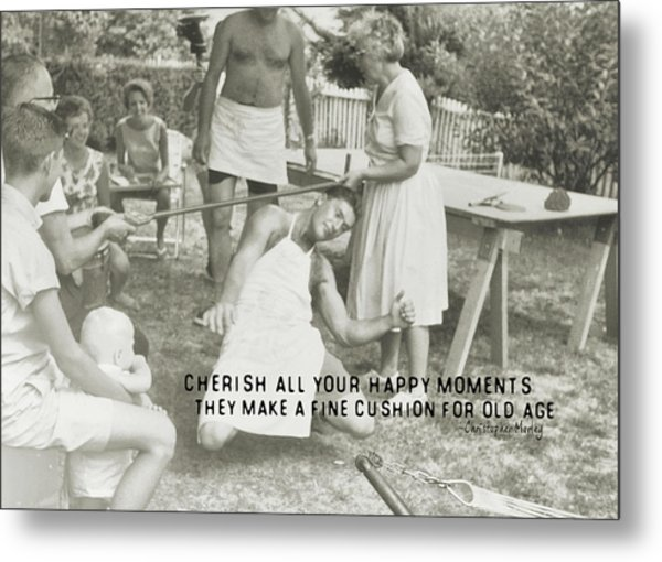 Calypso Quote Metal Print by JAMART Photography