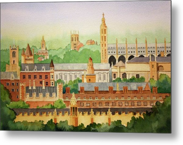 Cambridge Uk Metal Print