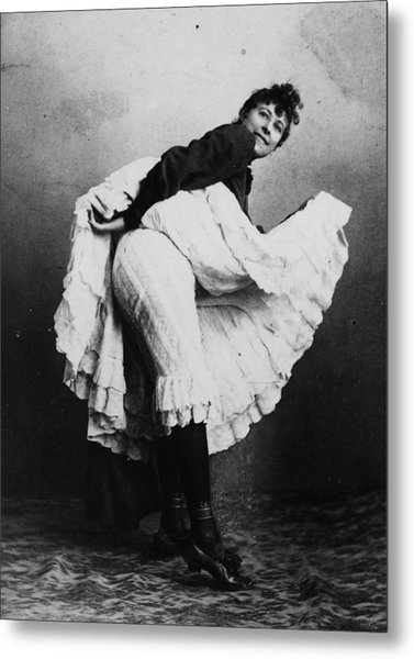 Can-can Dancer Metal Print by Hulton Archive