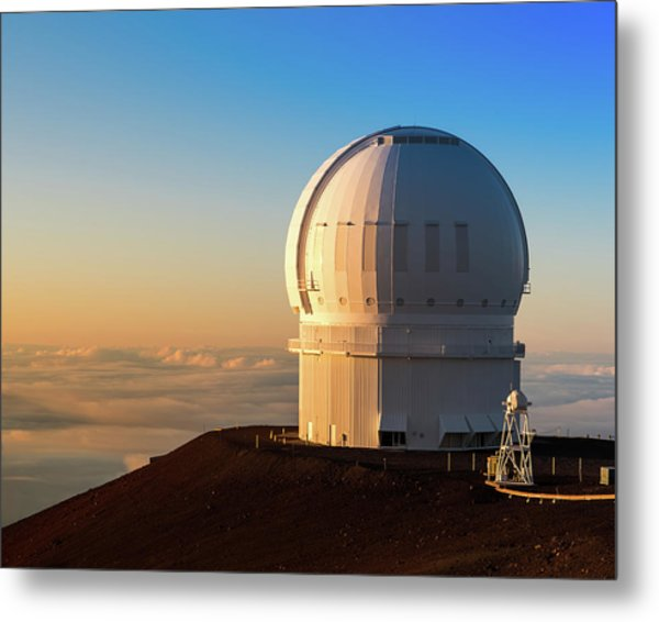Metal Print featuring the photograph Canada-france-hawaii Telescope by William Dickman