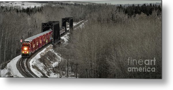 Canadian Pacific Holiday Train 2018 I Metal Print