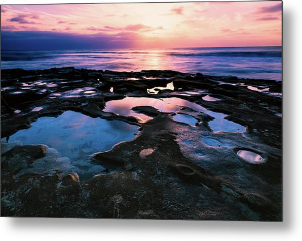 Candy Colored Pools Metal Print