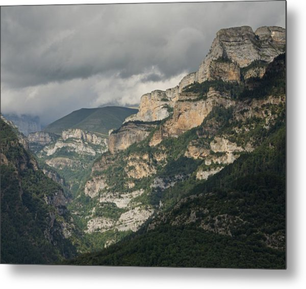 Metal Print featuring the photograph Canyon Anisclo by Stephen Taylor