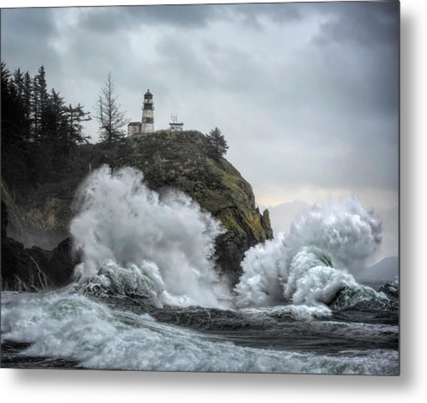 Cape Disappointment Chaos Metal Print