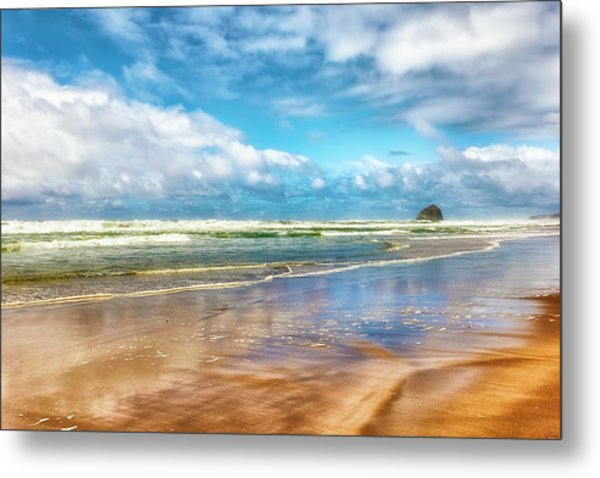 Cape Kiwanda Beach Metal Print