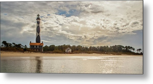 Cape Lookout Lighthouse No. 3 Metal Print