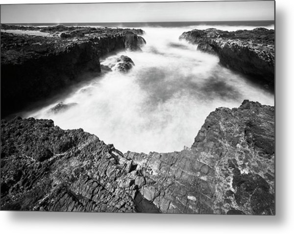 Metal Print featuring the photograph Cape Perpetua by Whitney Goodey