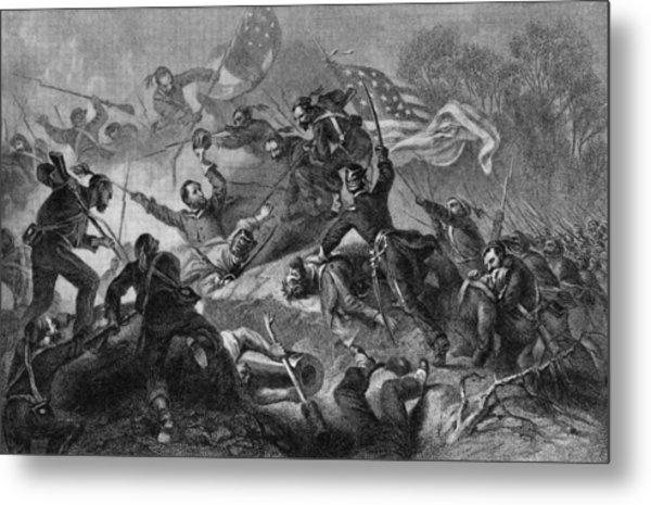 Capture Of Roanoke Metal Print by Kean Collection