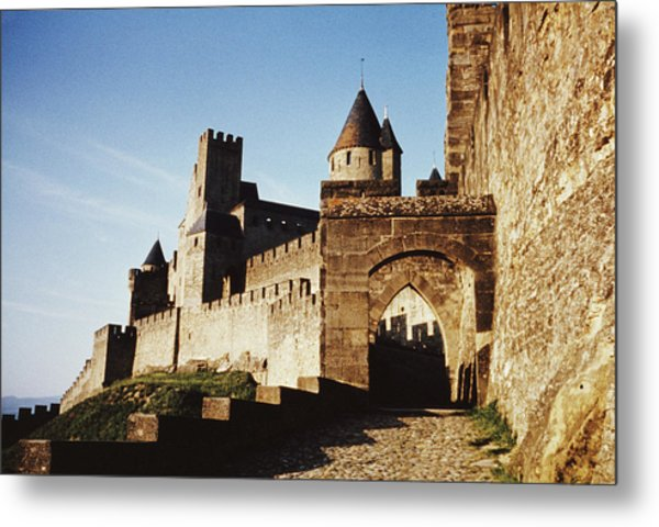 Carcassonne Metal Print by Archive Photos