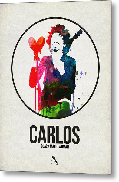 Carlos Santana II Metal Print