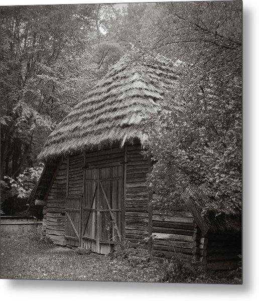 Carpathians Remote. Lviv, 2011. Metal Print
