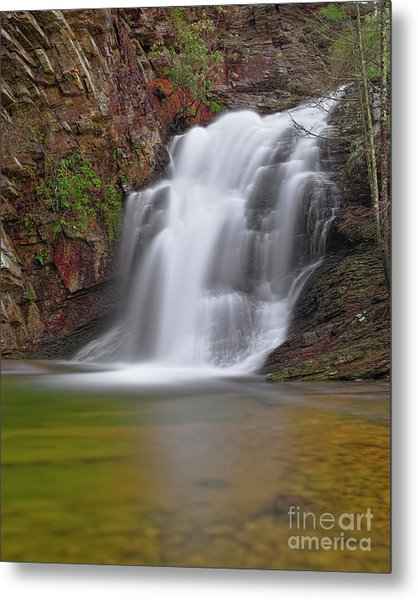 Metal Print featuring the photograph Cascade 1 by Patrick M Lynch