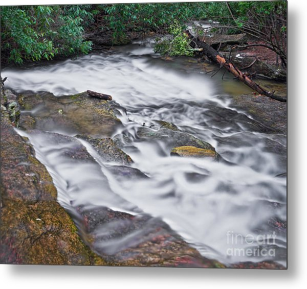 Metal Print featuring the photograph Cascade 3 by Patrick M Lynch