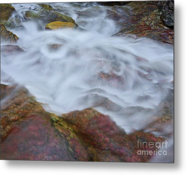 Metal Print featuring the photograph Cascade 4 by Patrick M Lynch