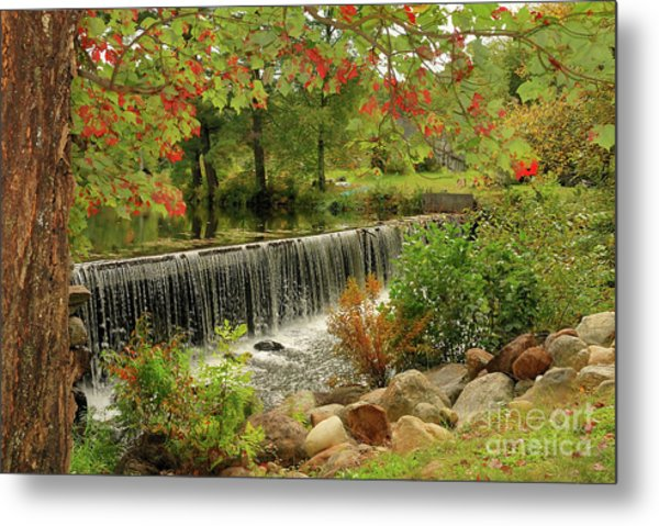 Metal Print featuring the photograph Cass Dam by Debbie Stahre