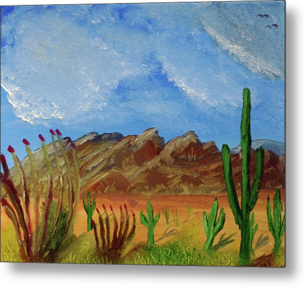 Catalina Mountains And Sonoran Desert Plants