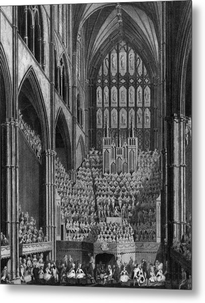 Cathedral Orchestra Metal Print by Hulton Archive