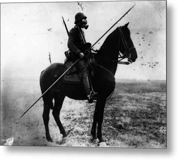 Cavalryman Metal Print by Topical Press Agency