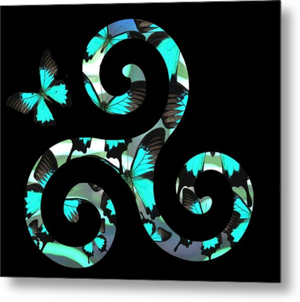 Celtic Spiral 3 Metal Print