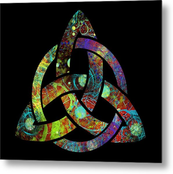 Celtic Triquetra Or Trinity Knot Symbol 3 Metal Print