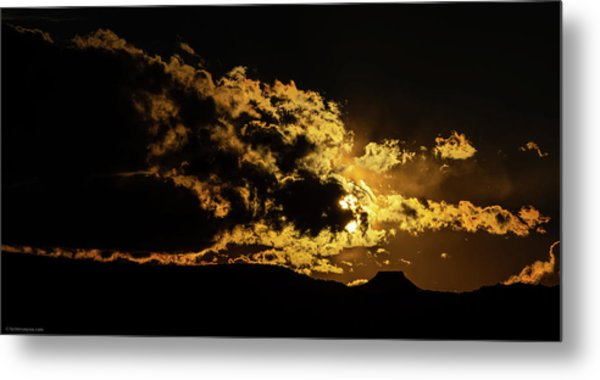 Cerro Pedernal West Metal Print