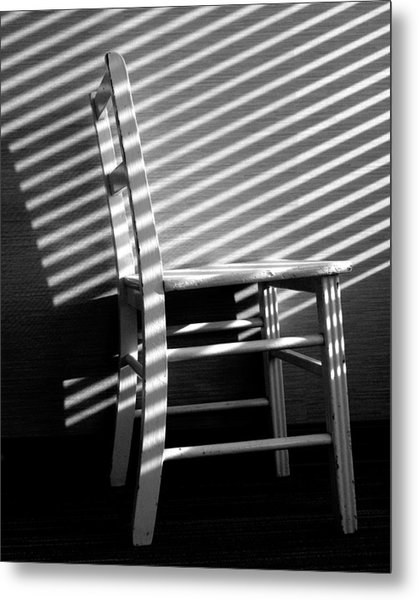 Blinds 1 / The Chair Project Metal Print