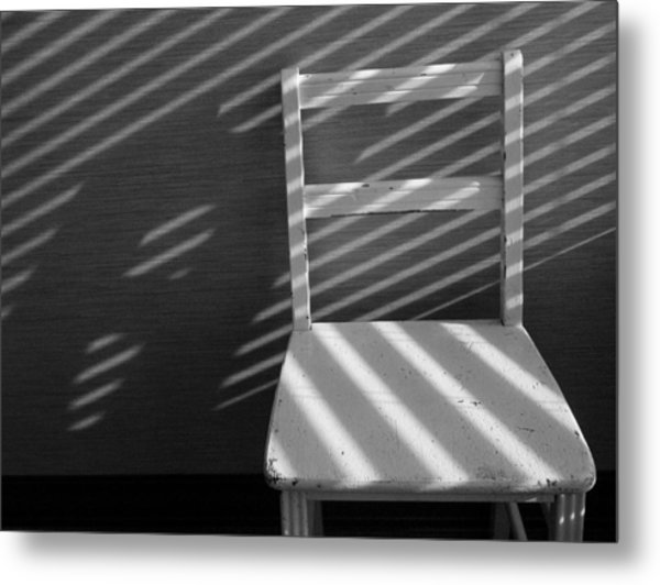 Blinds 2 / The Chair Project Metal Print