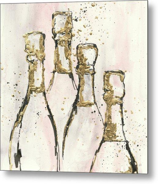 Champagne Is Grand II Metal Print by Chris Paschke