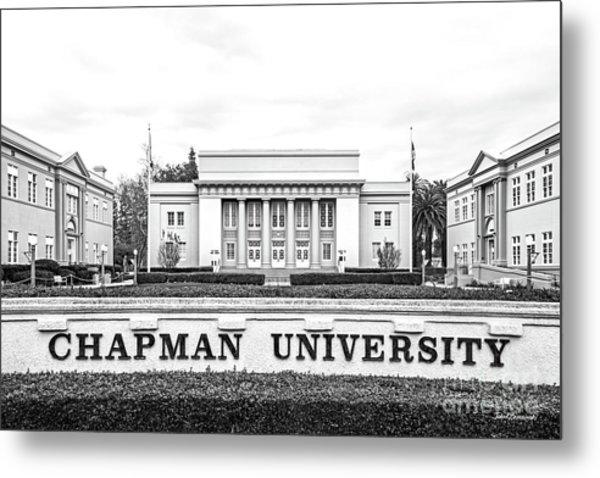 Chapman University Memorial Hall Metal Print