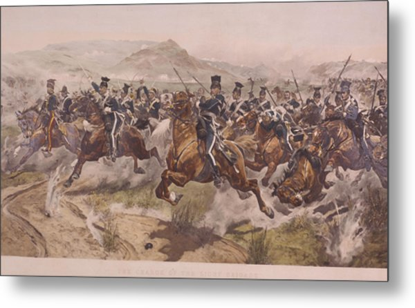Charge Of The Light Brigade Metal Print by Fotosearch