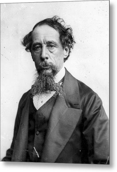 Charles Dickens Metal Print by Rischgitz