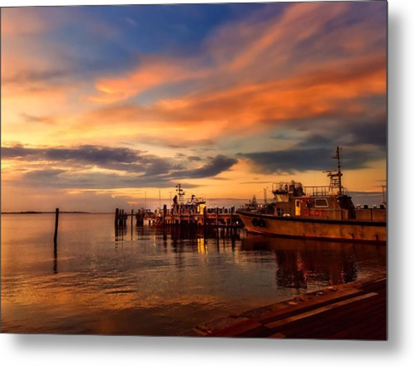 Charleston Dawn Metal Print