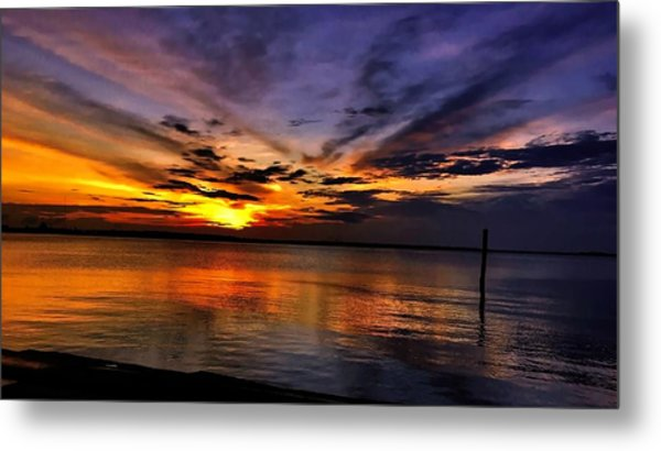 Charleston Gold Metal Print