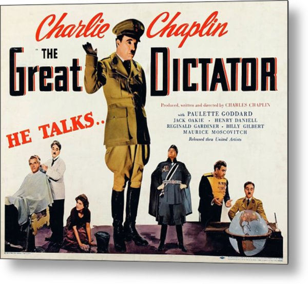 Charlie Chaplin In The Great Dictator -1940-