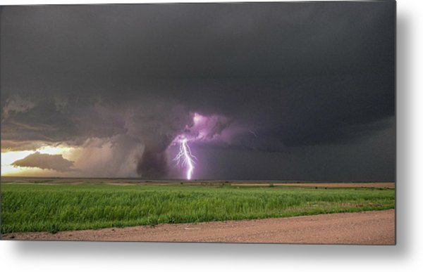 Chasing Naders In Nebraska 017 Metal Print