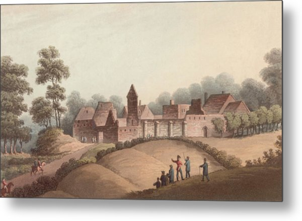 Chateau Dhougoumont Metal Print by Hulton Archive