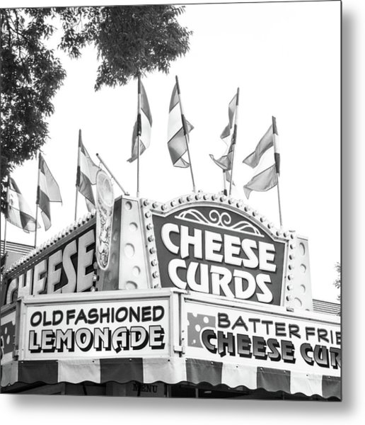 Cheese Curds Metal Print